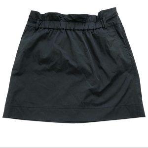 Banana Republic Black Paper Bag Top Mini Skirt